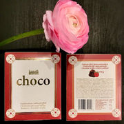 Chocolate with a taste of raspberry