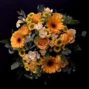 Yellow seasonal bouquet